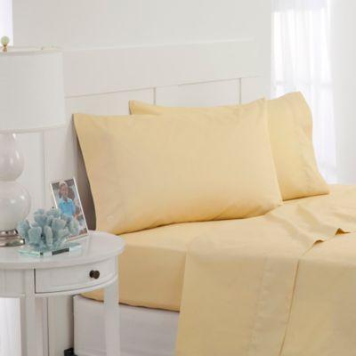 Southern Tide® Twill Tonal Full Sheet Set in Yellow