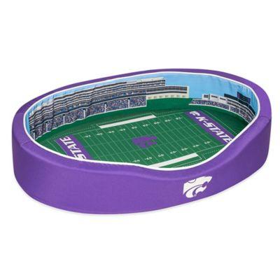 Kansas State University Large Stadium Pet Bed