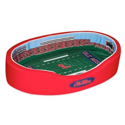 University of Mississippi Small Stadium Pet Bed