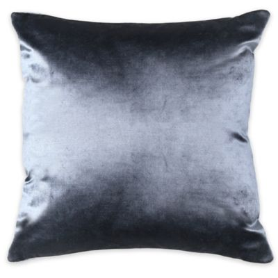 Frette At Home Cupido Lux Square Throw Pillow in Grey