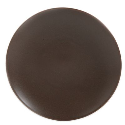 Gibson Paradiso Dessert Plate in Brown