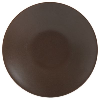 Gibson Paradiso Dinner Plate in Brown