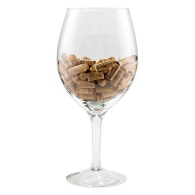 Wine Enthusiast® Oversized Wine Glass Cork Holder