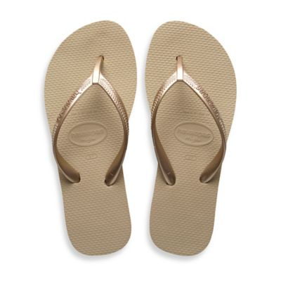 Havaianas Size 4 High Light Women's Sandal in Sand Grey