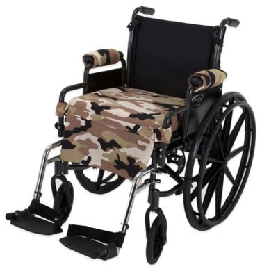 Wheelchair Solutions Wheelie Styles in Camouflage/Tan