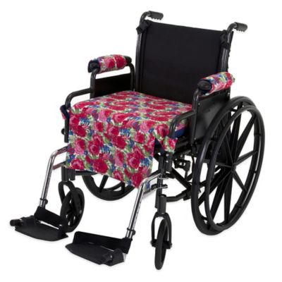 Wheelchair Solutions Wheelie Styles in Bright Floral/Blue