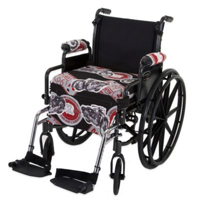 Wheelchair Solutions Wheelie Styles in Route 66/Grey