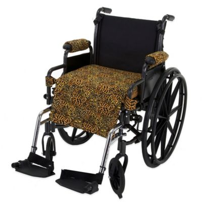 Wheelchair Solutions Wheelie Styles in Cheetah/Tan