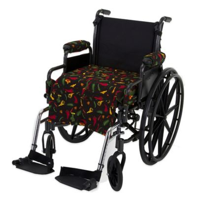 Wheelchair Solutions Wheelie Styles in Chili Pepper/Green