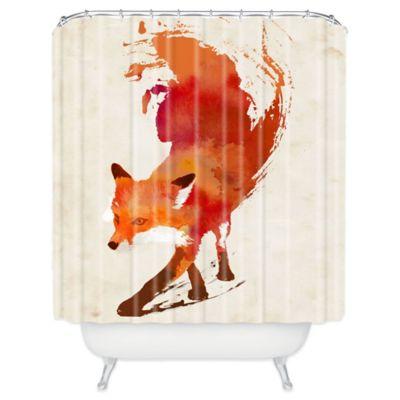 DENY Designs Robert Farkas Vulpes Shower Curtain