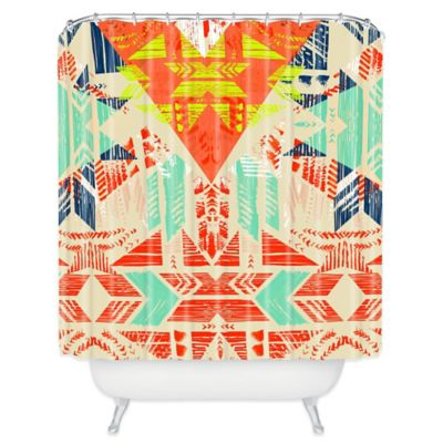 Southwest Bathroom Shower Curtains