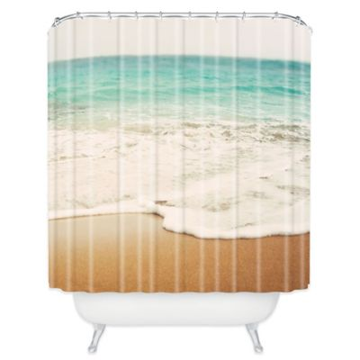 Beach Bathroom Curtains