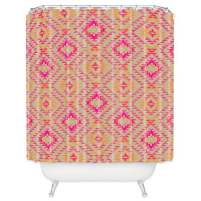 DENY Designs Pattern State Tile Tribe Shower Curtain