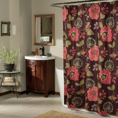 Morgan Shower Curtain in Purple