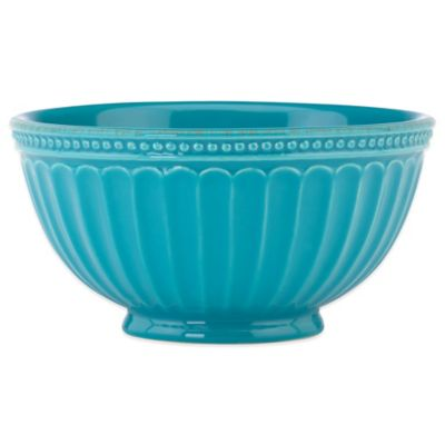 Lenox® French Perle Groove All Purpose Bowl in Peacock