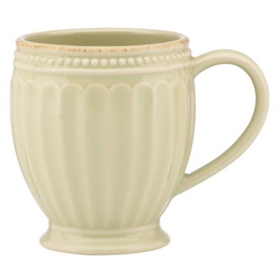 Lenox® French Perle Groove Mug in Pistachio