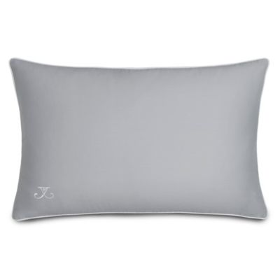 Jill Rosenwald Quatrefoil Oblong Throw Pillow in Grey