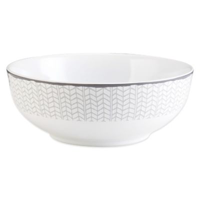 Mikasa® Avery Chevron Vegetable Bowl