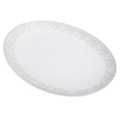 Mikasa® Avery Floral Oval Platter
