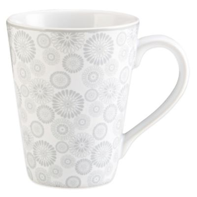 Dishwasher Safe Floral Mug