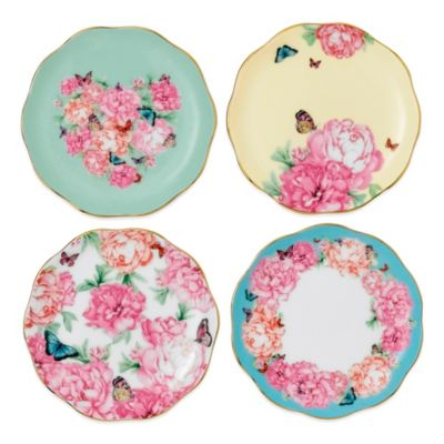 Miranda Kerr for Royal Albert Friendship Tidbit Plates (Set of 4)