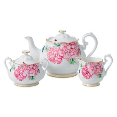 Miranda Kerr for Royal Albert Friendship 3-Piece Tea Set