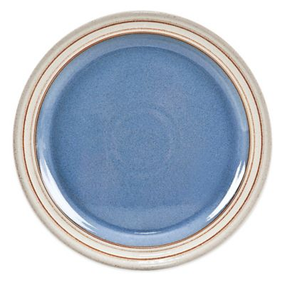 Denby Heritage Fountain Salad Plate in Blue