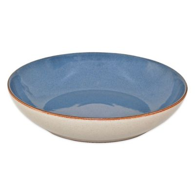 Denby Heritage Fountain Pasta Bowl in Blue