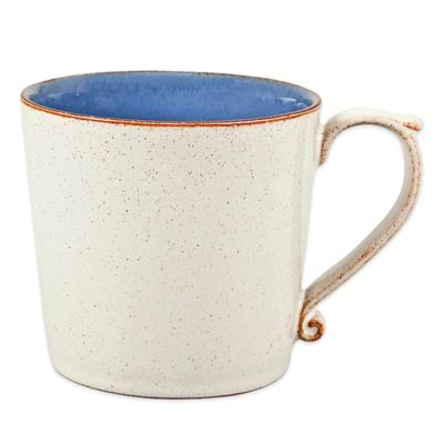 Heritage Fountain Large Mug in Blue