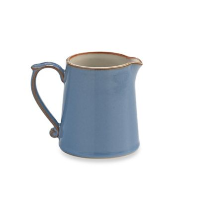 Denby Heritage Fountain Creamer in Blue