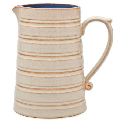 Denby Heritage Fountain Large Jug in Blue