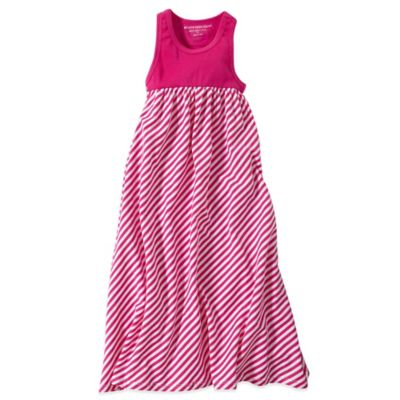 Burt's Bees Baby™ Size 2T Organic Cotton Stripe Maxi Dress in Pink