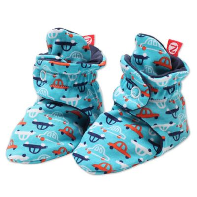 Zutano Size 3M Vroom Booties in Pool