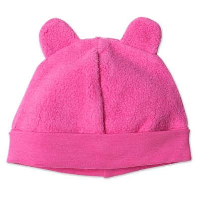 Zutano® Size 3M Baby Bear Cozie Hat in Fuchsia