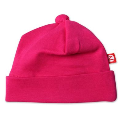 Zutano® Newborn Knit Cap in Fuchsia