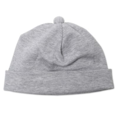 Zutano® Newborn Knit Hat in Heathered Grey