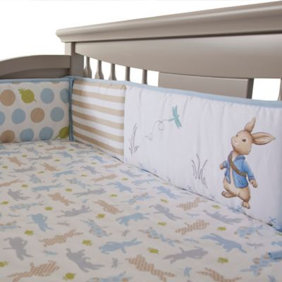 Lambs & Ivy® Peter Rabbit™ 4-Piece Crib Bumper