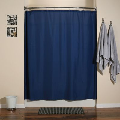 Sandbar Brown Shower Curtain Liners