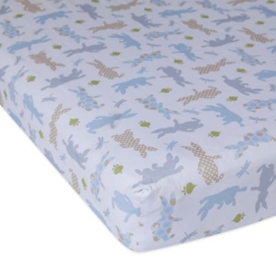 Lambs & Ivy® Peter Rabbit™ Fitted Crib Sheet