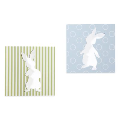Lambs & Ivy® Peter Rabbit™ Wall Art (Set of 2)