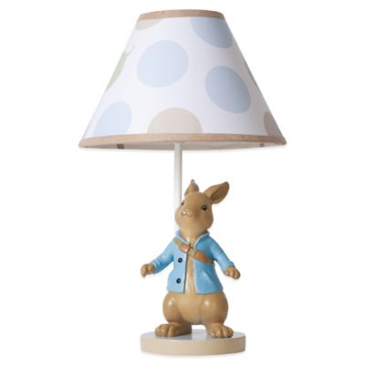 Lambs & Ivy® Peter Rabbit™ Lamp Base with Shade