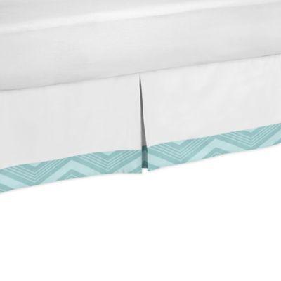 Sweet Jojo Designs Balloon Buddies Toddler Bed Skirt