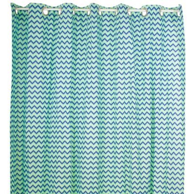Pam Grace Creations ZigZag Elephant Shower Curtain