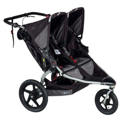 BOB® Revolution® PRO Duallie® Double Stroller in Black