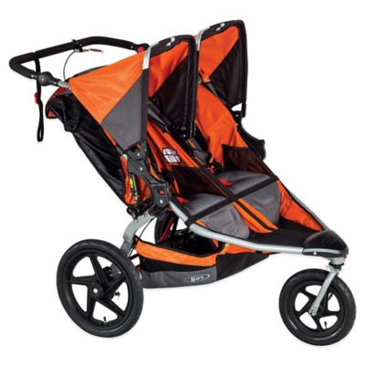 BOB® Revolution® PRO Duallie® Double Stroller in Orange