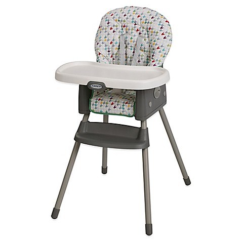 graco 174 simpleswitch high chair booster in lambert