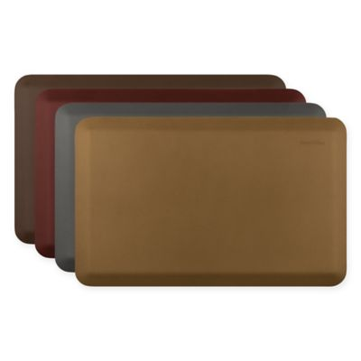 Smart Step by WellnessMats Classic Series 66-Inch x 20-Inch Kitchen Mat in Brown