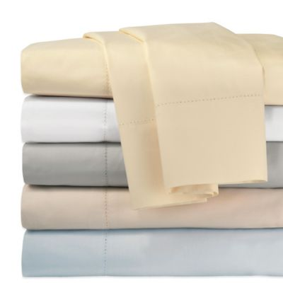 DKNY Classic Percale Full Sheet Set in Blue
