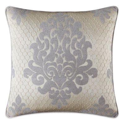 J. Queen™ New York Dante Square Throw Pillow in Cream