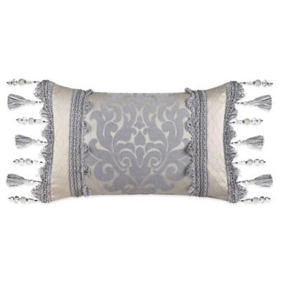 J. Queen New York™ Dante Boudoir Throw Pillow in Cream